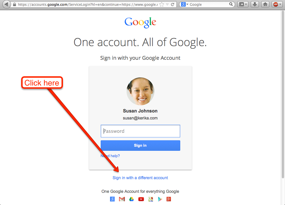 How to create a new Google ID