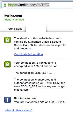 Kerika SSL