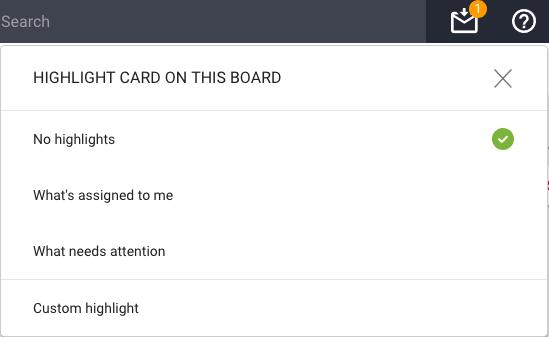Highlight options