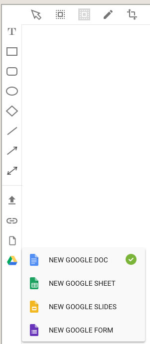 Google document options